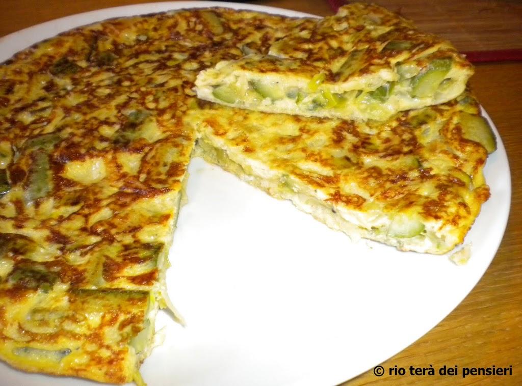 tortilla-2Bzucchine-2Bporri