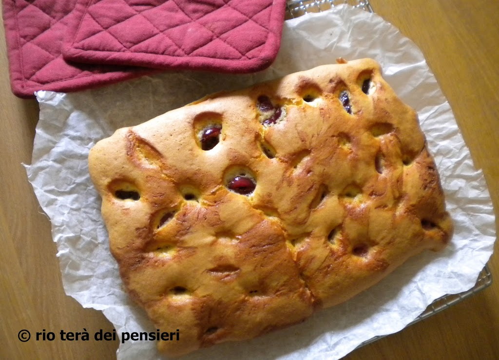 torta-ciliegie-sfornata