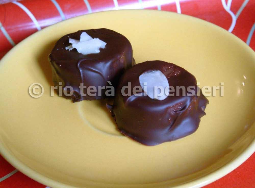 cioccolatini banana